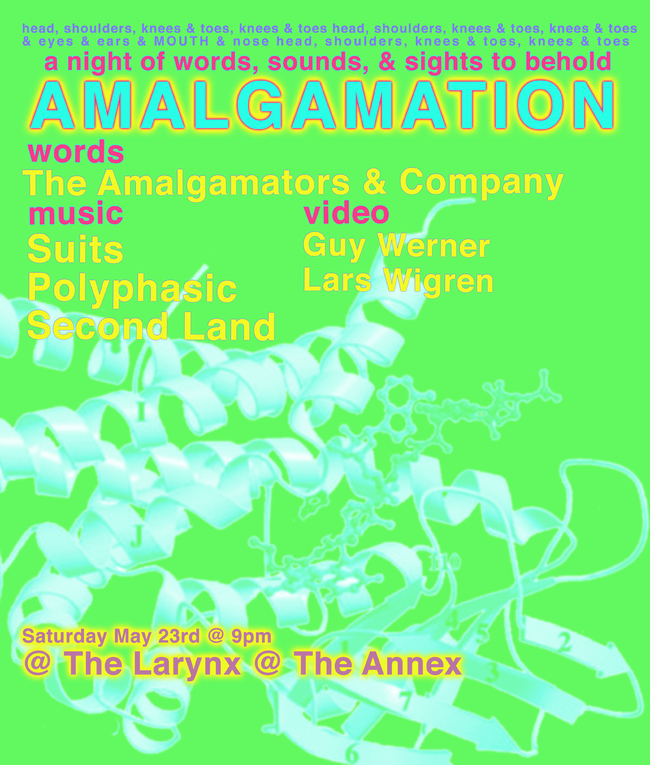 Amalgamation: A night of Words, Sounds, & Sights
