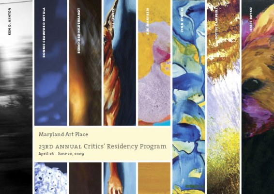 the 23rd Annual Critics' Residency program, at the Maryland Art Place
